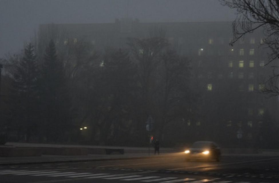 В Липецке туман продержится до воскресного утра
